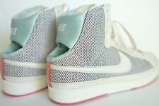 EUC RARE NIKE AIR WEAVE PASTEL IRIDESCENT PEARL HIGH TOPS OPEN ANKLE WOMENS 9