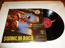 JEF MIKE - Swing in Bach (Swinging Classics No 1) - 16-track Vinyl LP
