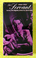 The Servant ~ New VHS Movie ~ Dirk Bogarde James Fox Sarah Miles Sealed Video