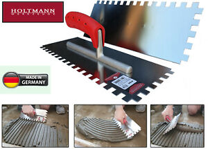 New Notched Trowel Stainless Steel 4-20mm RUST FREE Square Adhesive German Made