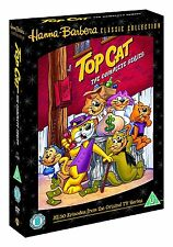 TOP CAT COMPLETE SERIES 720 MINUTES REGION 4 NEW AND SEALED 5 DISCS