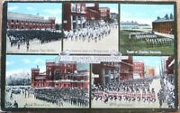 Toronto, Ontario, Canada 1910 Postcard-City Regiments/Rifles/Grenadiers/Barracks
