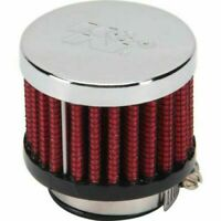 "K&N crankcase filter engine breather 20 - 25mm 1"" ID 62 1370"