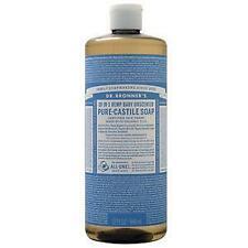 Dr. Bronner's Pure-Castile Soap Baby Unscented 32 fl.oz