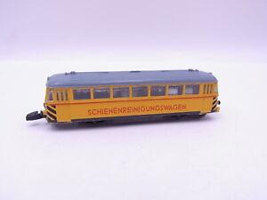 90767 Märklin Mini Club 8802 Schienenreinigungs-Triebwagen Jaune Pour Voie Z