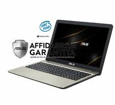 "Asus VivoBook ,15.6"" HD LED, Cpu Intel dual Core 64 bit fino a 2,4 GHz WIN10 PRO"