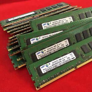 16 x SAMSUNG 2GB 2Rx8 PC3-10600E-09-10-E1 (16 Stück)