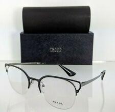Brand New Authentic Prada Eyeglasses VPR 64U M4Y - 1O1 Black 51mm Frame