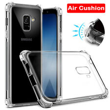 For Samsung Galaxy S8 Plus Glossy Back Case Crystal Shockproof Bumper TPU Cover
