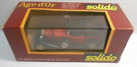 Solido 1/43 Scale Metal Model - SO232 MERCEDES SS TORPEDO RED