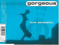 GORGEOUS - Love sensation CDM 7TR House Trance 1998 Germany
