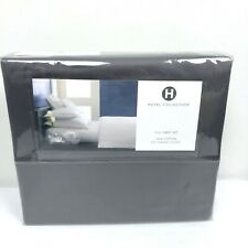 Hotel Collection Full Sheet Set Gray 100% Cotton 525 Thread Count