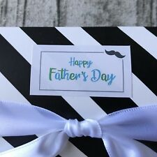 44x Father's Day Gift Labels Gift Stickers Can Be Personalised Bar Party Favours