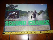 1986 KTM 350 ENDURO - ORIGINAL ARTICLE
