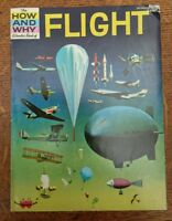 The How And Why Wonder Book of  FLIGHT  Paperback  10970's