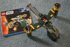 LEGO-7930-Star Wars Bounty Hunter Assault Gunship komplett mit BA ohne Figuren