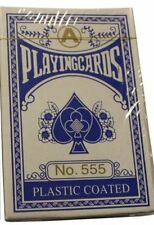 Polish Plastic Coated Poker Playing Cards Hysterical Goofy Graphics BLUE Deck