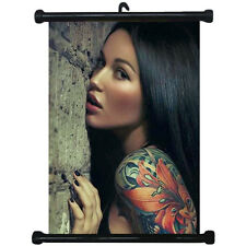 sp217140 Tattoo Wall Scroll Poster For Studio Shop Decor Display
