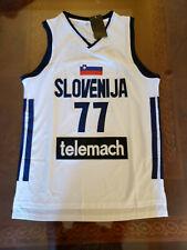 b784532d6e3 Luka Doncic  77 Slovenia Basketball MAVS ROY White Mens Replica Sz Medium  Jersey