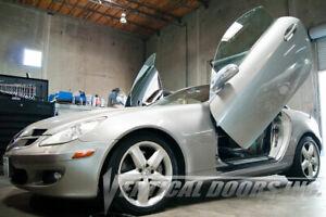 Vertical Doors - Vertical Lambo Door Kit For Mercedes SLK 2005-10 -VDCMERSLK0510