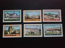 1979 - Romania - Contemporary Romanian Architecture ,Mi. 3601 - 3606,  MNH
