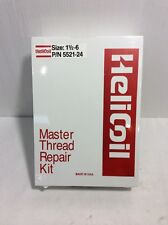 """New Heli-Coil Helicoil 5521-24 1-1/2""""-6 Unc Master Thread Repair Kit"""