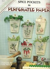 Back Street-Spice Pockets in Perforated Paper Designs by Pam Neely-Kitchen