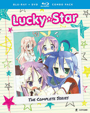 Lucky Star: The Complete Series (BD/DVD, 2016, 8-Disc Set)