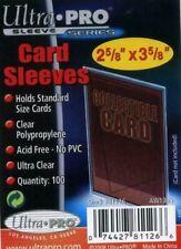 Ultra PRO - x100 SOFT SLEEVES TRADING CARD DECK PROTECTORS - MTG, Pokemon...