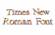 TIMES NEW ROMAN FONT WOODEN LETTERS lettering,words,shapes,craft,card,make,art
