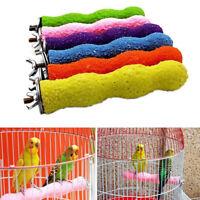 LN_ Bird Claw Beak Grinding Bar Parrot Teeth Stone Stick Pet Chew Perch Toy NE