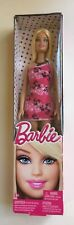 Barbie Basic Barbie Doll w/Pink, Black, White dress, Shoes and a Necklace - 2012