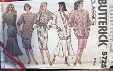 Butterick Classics pattern 5725 Misses'/Petite Cardigan, Dress size 6,8,10 uncut