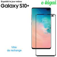 Samsung Galaxy S10+ PLUS Vitre Verre NOIR Avant écran Remplacement Réparation