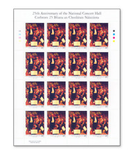 IRL0623ARK National Opera in Dublin FULL STAMP SHEET MNH IRELAND 2006