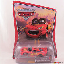 Disney Pixar Cars Spin Out Lightning McQueen #36 World of Cars WoC series Mattel