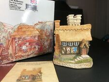 Davod Winter Cottages * The Refectory * King Arthurs, Rare New W/ Box Coa
