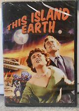 This Island Earth (DVD, 2006) RARE 1955 SCI FI HORROR MYSTERY BRAND NEW