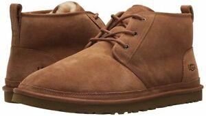 UGG Men's Neumel Boot Size 10 Chestnut Brand new in box FAST SHIP