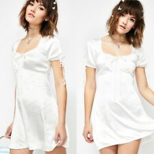 motel rocks guenette dress ivory satin / small / BNWT sold out