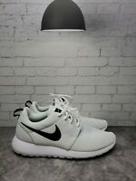 Nike Womens Roshe One 844994-101 White Running Shoes Lace Up Low Top Size 8.5