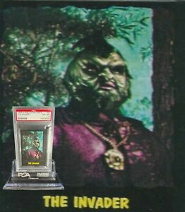 1964 A&BC Outer Limits THE INVADER #30 NEAR MINT-MINT 8 - Vintage garno PSA
