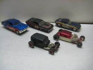 HOT WHEELS CLASSIC CUSTOMS SERIES 1/50TH SCALE LOT OF 5 $