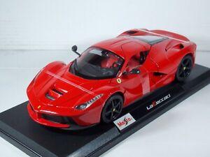 Ferrari La Ferrari. Red. 1:18 Scale. Maisto. MIB