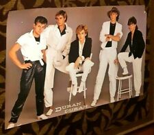 DURAN DURAN RIO ERA POSTER BAND SHOT GREAT POSE!