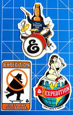 EXPEDITION ONE STICKER PACK  #2 **KIT OUT THE BEER FRIDGE!!**