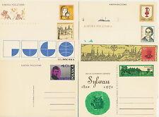 Poland prepaid postcard - all year 1970 (43 pcs)