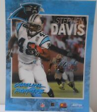 "STEPHEN DAVIS CAROLINA PANTHERS 3D Motion Hologram Wall Poster 14 "" X 11 NEW"