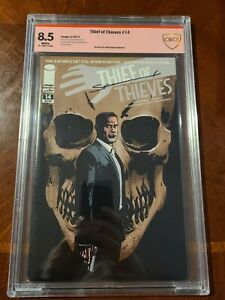 THIEF OF THIEVES 14 IMAGE COMICS (5/2013) CBCS 8.5 SIGNED BY SHAUN MARTINBROUGH