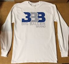 Brand New 100% Cotton GILDAN Custom BBB Big Baller Brand Long Sleeve T-Shirt